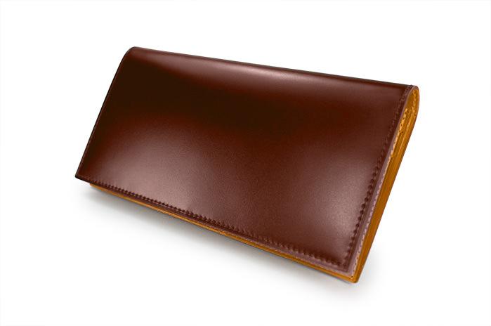 buy popular fd7c4 ae33a CORDOVAN(コードバン) ファスナー小銭入れ付き長財布|最高級の ...